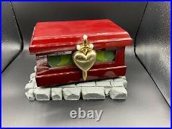 Disney Rare Snow White Evil Queen Heart box