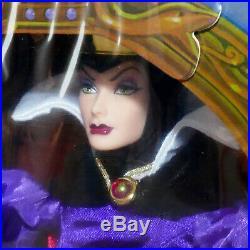 Disney SNOW WHITE Barbie Doll 1990s EVIL QUEEN NOS NRFB Mattel USA SELLER