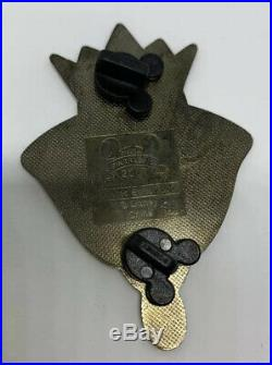 Disney Shopping Evil Queen Face Jumbo Pin LE 500 Artist Proof AP Prototype Black