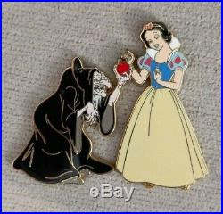 Disney Shopping Princess Icon LE 100 Pin Snow White Old Hag Apple Evil Queen HTF
