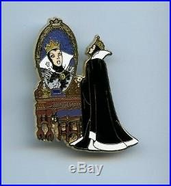 Disney Shopping Snow White & 7 Dwarfs Villain Evil Queen Vanity Mirror 250 Pin