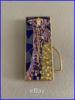 Disney Shopping Snow White Evil Queen Art Nouveau Jumbo Pin LE 300 Rare Store