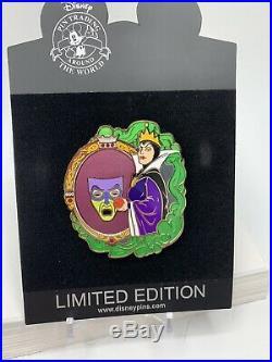 Disney Shopping Store Evil Queen Evil Divas LE 125 Pin Villains Snow White