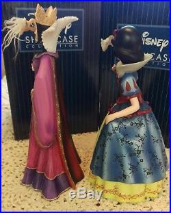 Disney Showcase Snow White & Evil Queen Masquerade Couture De Force Nib