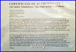 Disney Snow White Evil Queen Magic Mirror LE 2500 Daily / Kidney Designed c2000