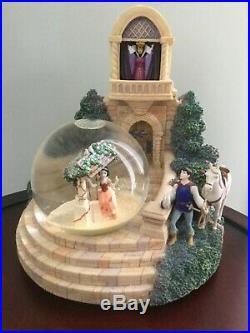 Disney Snow White Evil Queen Snow Globe With box