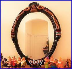 Disney Snow White Evil Queen slave big figure Magic mirror RARE - 3 FEET Tall