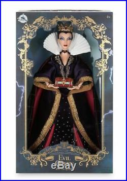 Disney Store EVIL QUEEN Snow White 17 Limited Edition DOLL New In Box LE 6500