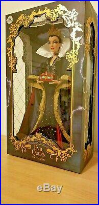 Disney Store Evil Queen Doll 17 Limited Snow White Old Hag Witch Villain NTW