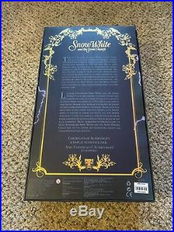Disney Store Evil Queen Limited Edition Doll 17 COA Snow White NRFB