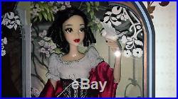 Disney Store Set Snow White & Evil Queen 17 LE Art of Snow Edición Limitada