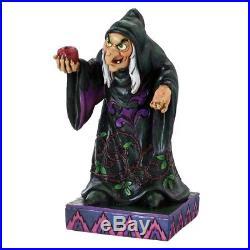 Disney Traditions Take a Bite Hag Snow White Evil Queen Jim Shore #4037508 NIB