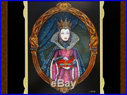 Disney Villains Evil Queen Limited Art Printboard Snow White