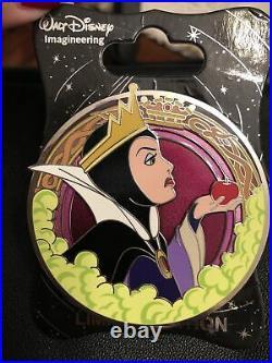 Disney WDI Evil Queen Profile Pin Villain Snow White LE 250