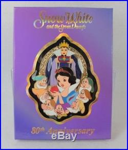 Disney WDI Pin LE 200 Snow White Seven Dwarfs 80th Anniversary Jumbo Evil Queen