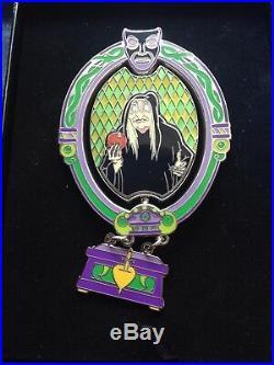 Disney WDW Featured Artist 2006 Evil Queen Transformation Jumbo Pin Snow White