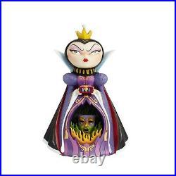 Disney World of Miss Mindy Snow White's EVIL QUEEN Diorama Light Up Figurine NIB
