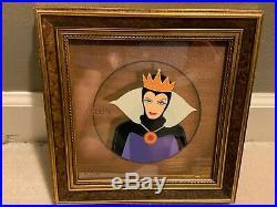 Disney limited edition Snow White & Evil Queen portrait Edition 3 cels