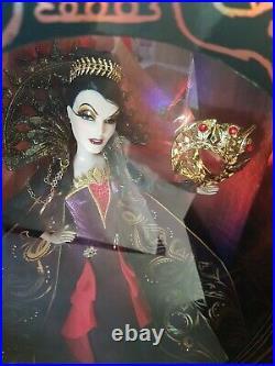 EVIL QUEEN Disney Villains Midnight MASQUERADE Designer Doll Limited Edition NEW