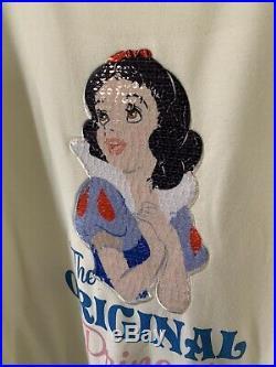 EVIL QUEEN/SNOW WHITE Disney Park Exclusive Sequined Tshirt& Danielle Nicole NWT