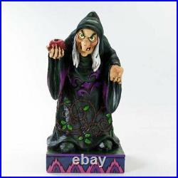 Enesco Jim Shore Disney Evil Queen Hag Witch TAKE A BITE Snow White Figurine NIB