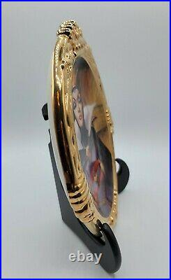 Evil Queen Ceramic Gold Trimmed Plate Hand Numbered Limited Edition #31 WDC