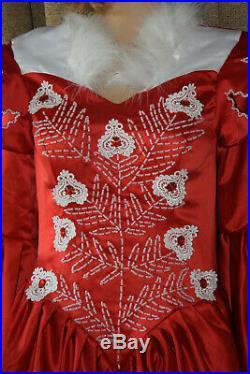 Evil Queen Costume Snow White Cosplay Dress Gown Mirror Loj Sz M L Ooak Ishioka