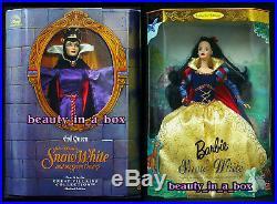 Evil Queen Doll Great Villains Disney Snow White Barbie Children's Collector Lot