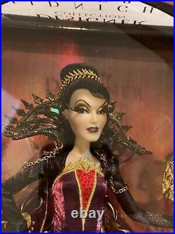 Evil Queen Doll LE 5000 Midnight Masquerade Disney Designer Collect Snow White