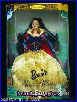 Evil Queen Great Villains Doll Disney Snow White Barbie Children's Collector Lot