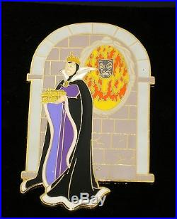 Evil Queen Jumbo LE Disney Pin Snow White Wicked Villain Magic Mirror Heart