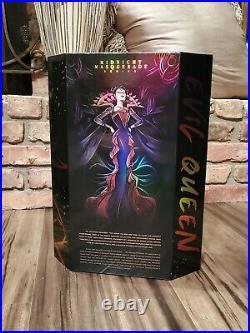 Evil Queen Midnight Masquerade Disney Designer Snow White Doll LE 5000 In Hand