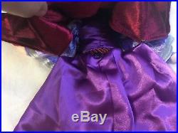 Evil Queen Snow White Topsy Turvy Plush Doll Disneyland Disney World RARE HTF