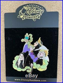Evil Queen Transformation Snow White Le 100 Disney Auctions Pin