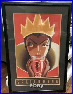 Framed Disney Art Print Spellbound The Evil Queen-Snow White