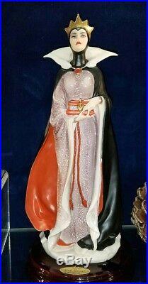 Giuseppe Armani Disney Arribas SNOW WHITE EVIL QUEEN Figurine Figure! NEW