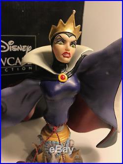 Grand jester studios Disney Evil queen snow white statue bust wdcc figure ENESCO