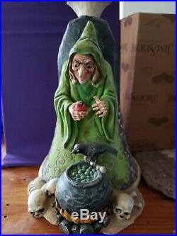 IN BOX Rare Jim Shore Walt Disney Showcase Snow White Evil Queen/Witch Wicked