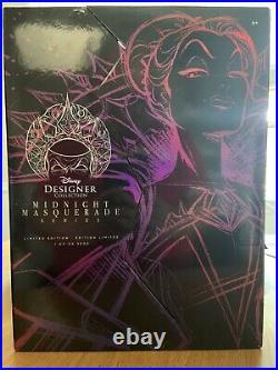 IN HAND Evil Queen Midnight Masquerade Disney Designer Snow White Doll LE