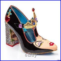 Irregular choice Evil Queen Size 35 2.5 New Snow White Disney