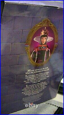 JAFAR Disney Great Villains Aladdin Snow White Evil Queen Cruella LOT