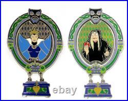 JUMBO LE Disney Pin Villain Evil Queen Transformation Magic Mirror Rachael Sur
