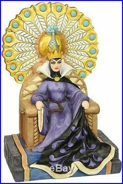 Jim Shore Disney Evil Enthroned Snow White Evil Queen 4043649 NRFB Retired
