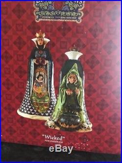 Jim Shore Disney Showcase Snow White Wicked Evil Queen NEW NIB