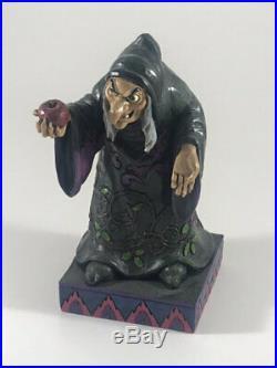 Jim Shore Disney Snow White Evil Queen Hag Witch Take A Bite 4037508
