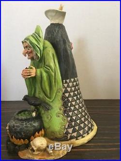 Jim Shore Disney Traditions Evil Queen Snow White Figurine Rare