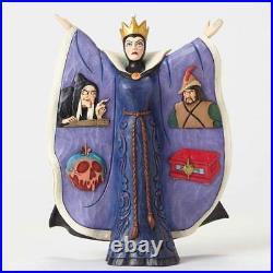 Jim Shore Evil Intentions Snow White Evil Queen Disney Traditions 4051990 MIB