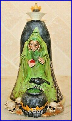 Jim Shore Wicked Snow White Villain Evil Queen Old Hag Double 2 Sided 4005218