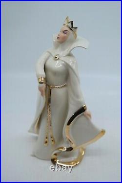 LENOX DISNEY SHOWCASE THE EMPRESS OF EVIL Snow White Evil Queen MIB