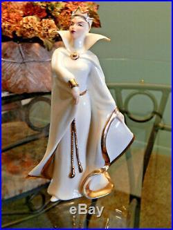 LENOX Disneys Snow White Empress of Evil Queen Stepmother Figurine